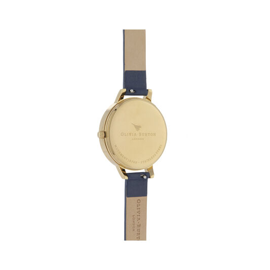 Enchanted Garden Navy & Gold Watch