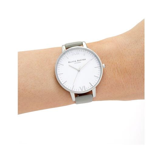 Timeless Silver & Grey Watch