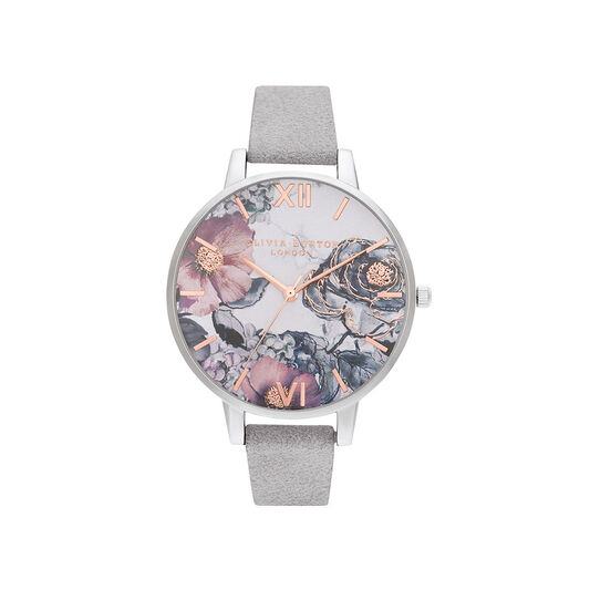 Eco Friendly Grey & Silver Watch