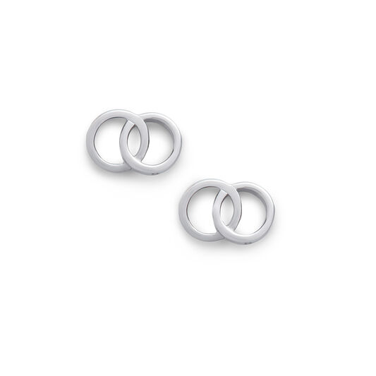 Classics Interlink Silver Earrings