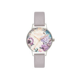 Glasshouse Grey Lilac Rose Gold & Silver