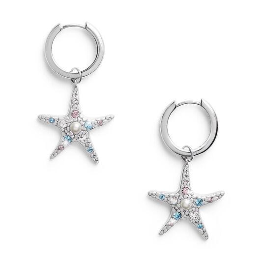 Starfish Silver Huggies