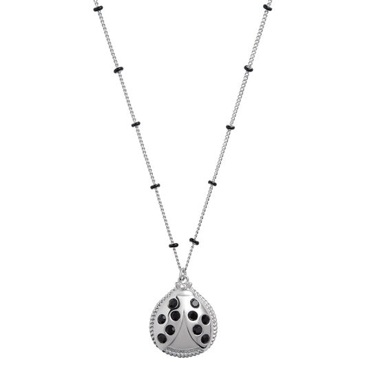 Ladybird Necklace silver
