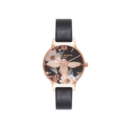 Bejewelled Rose Gold Watch