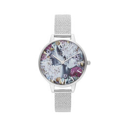 Under the Sea Silver Mesh Watch