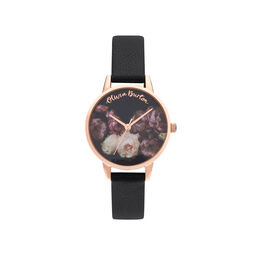 Fine Art Black & Rose Gold