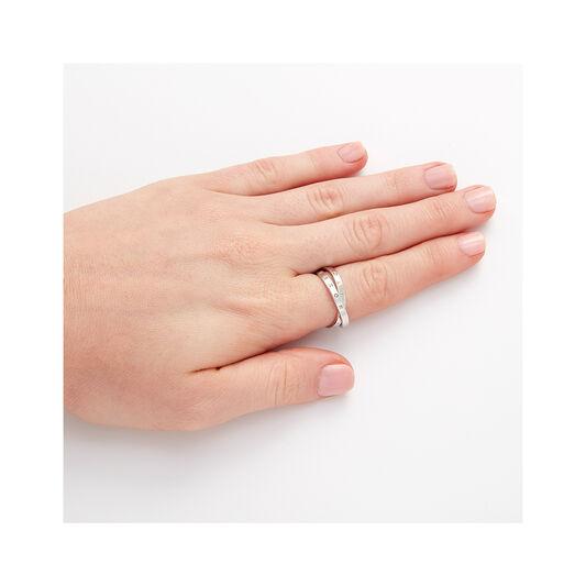 Classics Interlink Silver Ring S