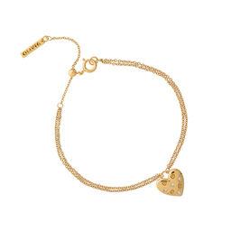 Classic Heart Gold Bracelet
