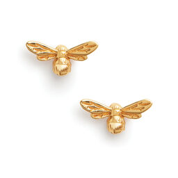 Lucky Bee Earrings Gold