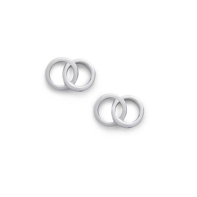 The Classics Interlink Earrings Silver