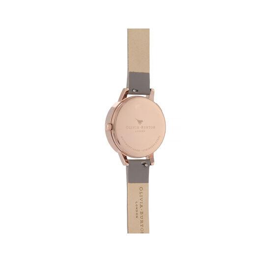 Wishing Watch Grey & Rose Gold Watch