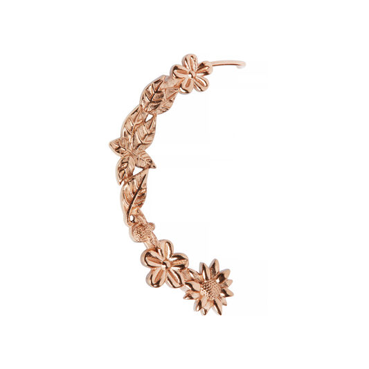 Midi Dial Rose Gold Case Cuff