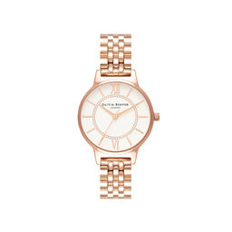 Wonderland Rose Gold Bracelet Watch