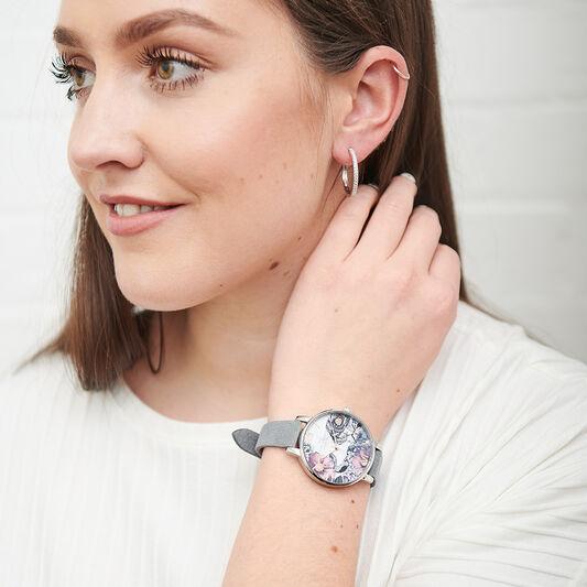 Eco Friendly Grey & Silver Watch