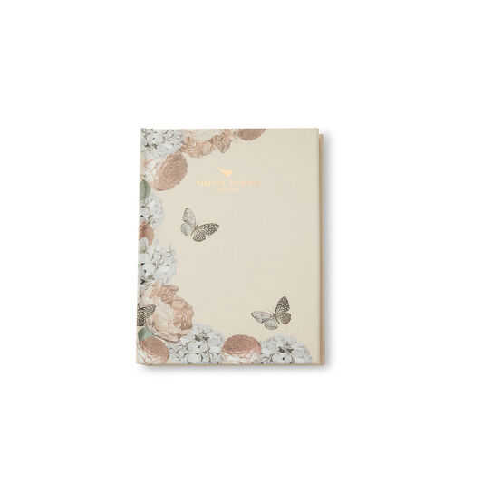 Nude Peach Floral Notebook
