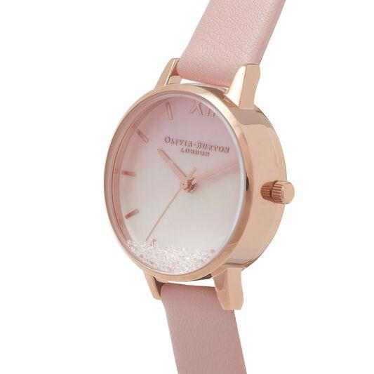 Wishing Waves Midi Dial Pink & Rose Gold Watch
