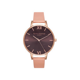 Dusty Pink & Rose Gold Watch