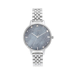 Night Sky Demi Dial Silver Bracelet Watch
