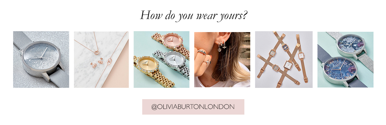 Follow Olivia Burton on Instagram