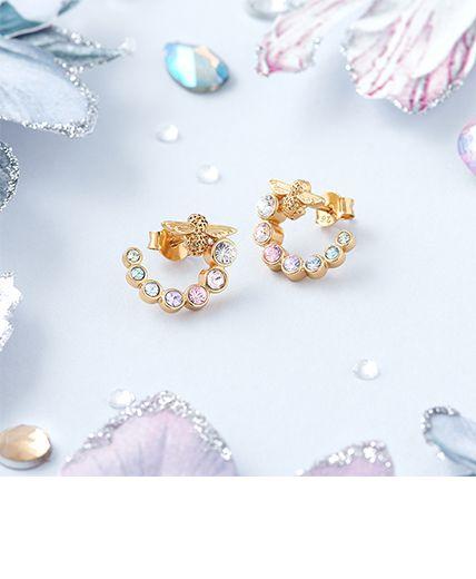 Women's Rainbow Bee Jewellery
