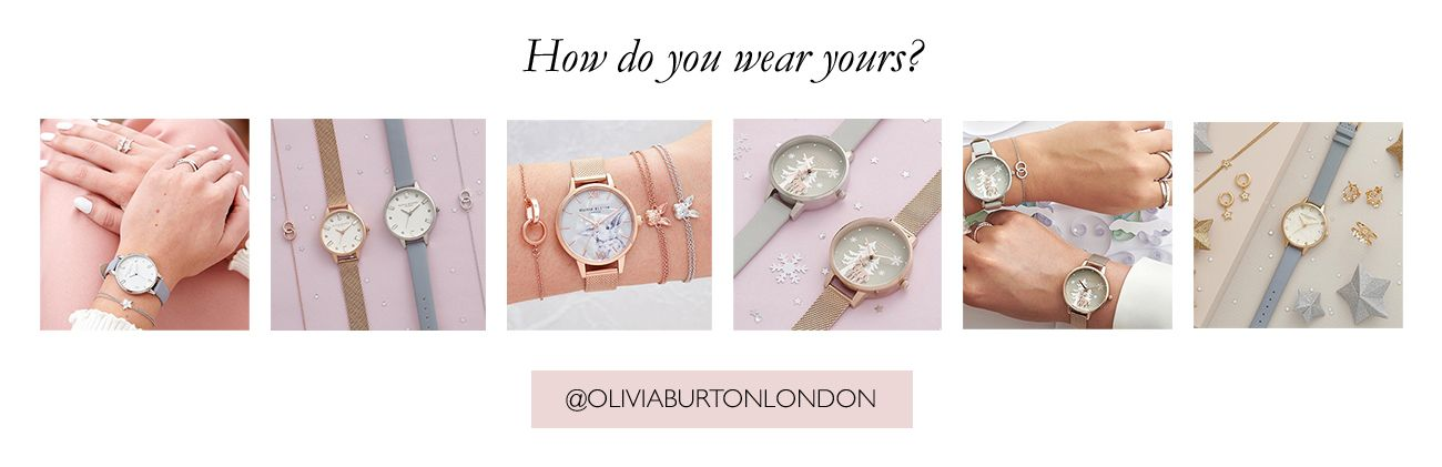 Follow Olivia Burton on Instagram