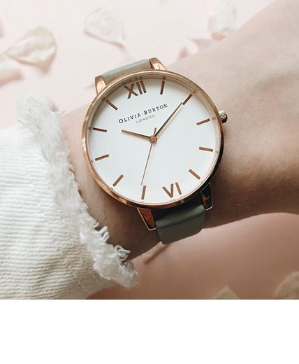 Women's White Dial Watches | Olivia Burton